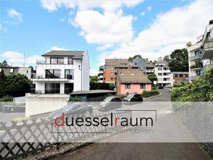 Unterbach: ca. 379 m² Baugrundstück mit genehmigter Bauvoranfrage für 4-Parteinhaus und Stellplätzen