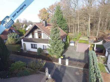 Sonniges EFH mit ca. 70 m² großen ELW im 1. OG in begehrter Waldrandlage in Nbg.-Fischbach