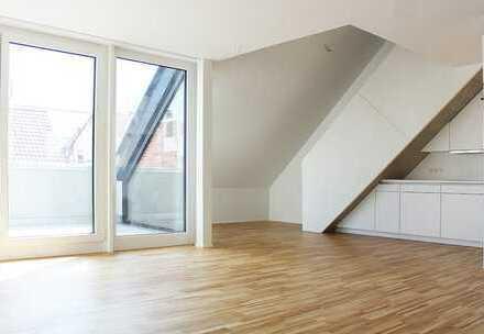 3,5-Zimmer-Maisonette-Wohnung mit Dachbalkon und EBK