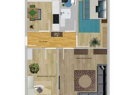 3 Zimmer Wohnung in der Schönen Aussicht
