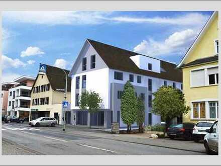 Montabaur, Büro-Neubau mit Schaufenstern