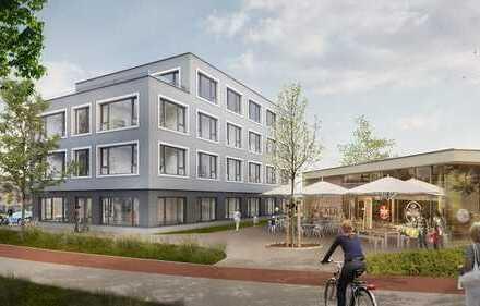 PENTHOUSE MIT TERRASSE: Arbeiten im Neubau