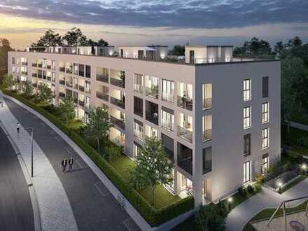 Ein lebendiges Wohnerlebnis! Ca. 69 m² große 3-Zimmer-Wohnung mit Privatgarten in München-Neuaubing