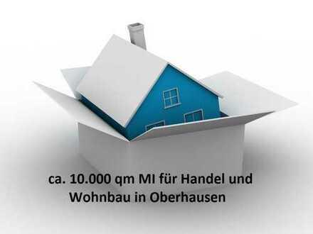 10.000 qm MI für Handel und Wohnbau in Oberhausen