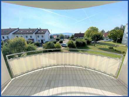 Gemütliche kleine Wohnung mit tollem Balkon: Auf dem Aarberg