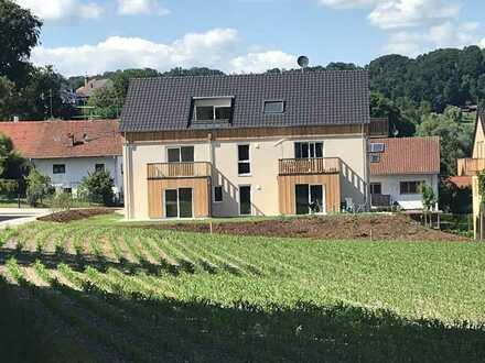 Erstbezug mit Balkon: freundliche 3-Zimmer-Wohnung in Gars am Inn