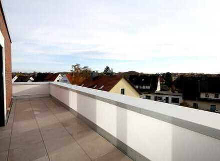 Stilvolles Wohnen mit Dachterrasse im Staffelgeschoss