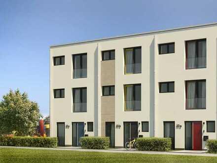 modernes Stadthaus im Bauhausstil in Köln-Junkersdorf