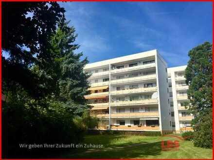 Großzügige 2 ZKB, Balkon EG Wohnung mit Blick ins Grüne