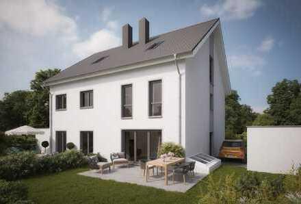 NEUBAU SKS Wohnbau: Familienfreundliche Doppelhaushälfte in ruhiger Lage Gilchings