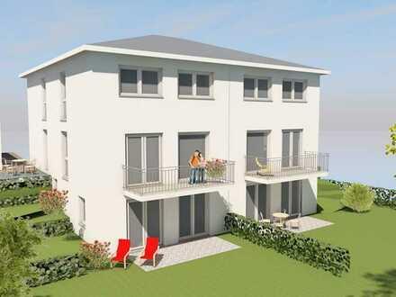 Neubau Doppelhaushälfte  in Südhanglage