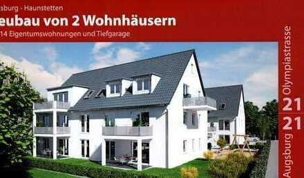 Tolle Neubau-Dachgeschosswohnung in Alt-Haunstetten