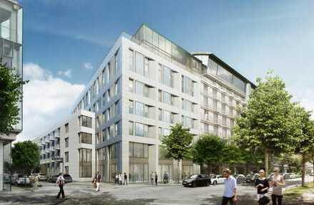Urban und trendig an der Alster – Neubau! 2- Zimmer- Penthouse-Wohnung!