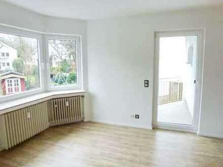 Gut aufgeteilte Zweizimmerwohnung mit Balkon und Stellplatz in kleiner Wohneinheit