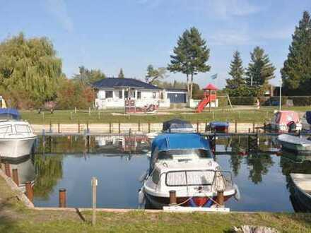 Grundstück mit Ferienbungalow in Neeberg - Insel Usedom - nur 100 Meter vom Achterwasser entfernt!