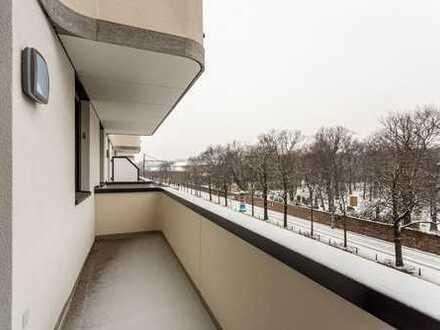 Ab sofort   Stylische 2 RW   Duschbad   Parkett   Balkon   hochwertige EBK   Balkon
