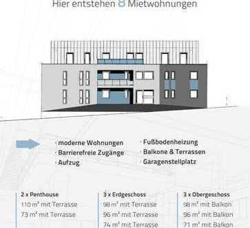 Neubau - Wohnen an der Trasse