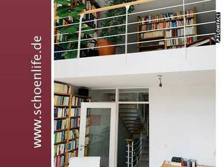 Modernes Häuschen im Grünen! *zwei Balkone / Garten / Garage*