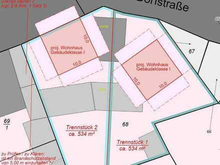 In Brandenburger Landschaft, mitten im Dorf: Gortz