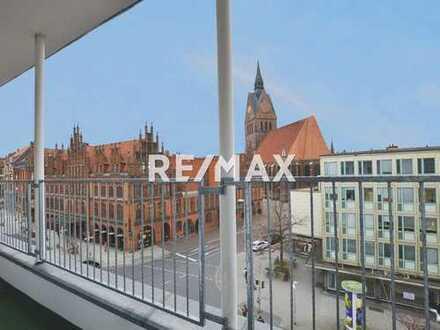 Große Penthouse-Wohnung mit traumhaften Blick auf die Marktkirche!