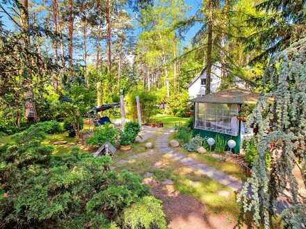 Wochenend-Idyll direkt im Wald von Müggelheim!