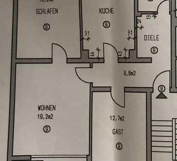 3-Zimmer-Wohnung mit Balkon in Nippes, Köln