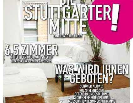 Schöne 6,5 Zimmer DG-Altbauwohnung in Stuttgart-Mitte
