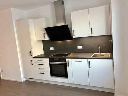Erstbezug mit EBK & Terrasse inkl. Tiefgarage: exklusive 2-Zimmer-Hochparterre-Wohnung in Regensburg