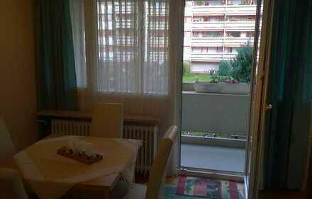 Möblierte 2-Zimmer-Wohnung mit Balkon in München (Kreis)