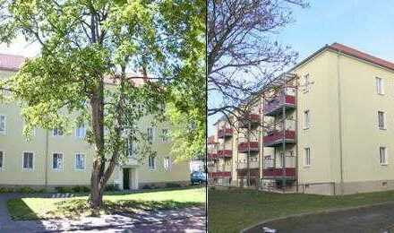 schöne 3-Raum-Wohnung mit Balkon in Eilenburgs bester Lage