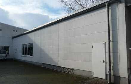 +++ Eine Halle für Handwerksbetriebe mit vielseitigen Verwendungsmöglichkeiten+++