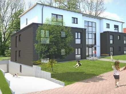 Wohnen im Grünen - Neubau von Eigentumswohnungen mit Tiefgarage