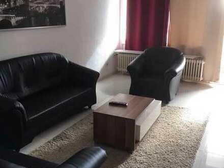 Möblierte Wohnung 3-Zimmerwohnung mit Balkon