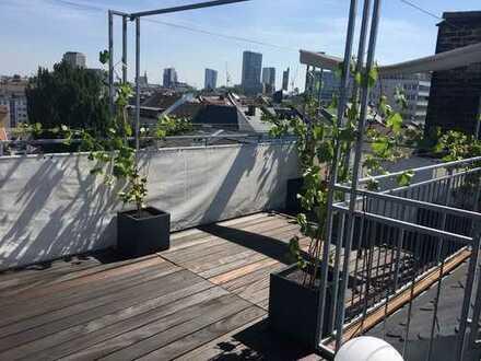 Liebevoll sanierte Designerwohnung mit Dachterrasse im Altbau in bester Westendlage!!