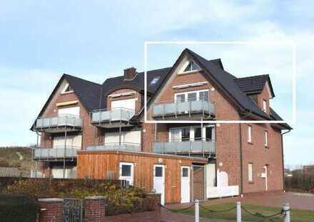 Direkt hinter der Düne zum Nordstrand! Neuwertige Ferienwohnung mit 3 Zimmern und ausgebautem Sp...