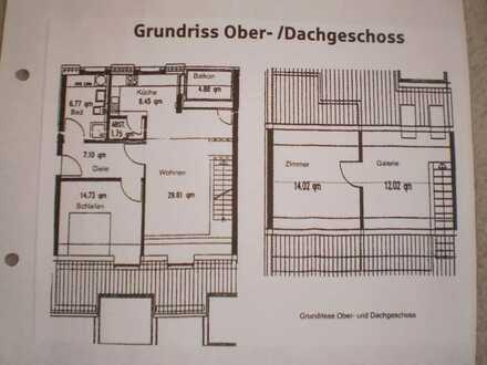 Sehr schöne 3,5 Zimmer Maisonette-Wohnung im Herzen von Nagold