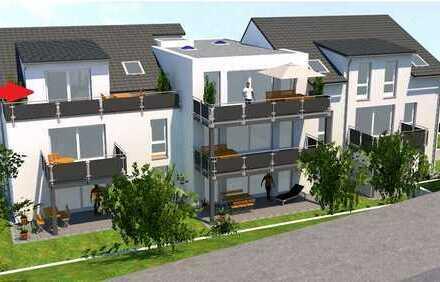 Wohnung 8 im DG - beste Aussicht und zwei Terrassen