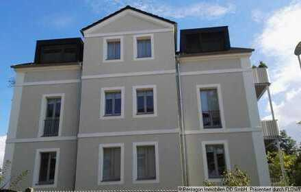 exklusive 4-Raum-DG-Wohnung in Radebeul-West mit 2 Balkonen