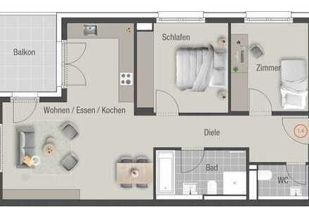 Ihre 3-Zimmer-Wohnung im Lothar-Späth-Carré