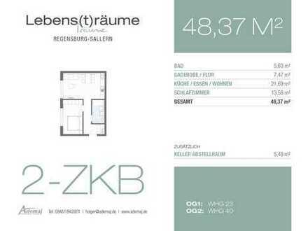 Helle 2-Zimmerwohnung - ideal für Singles und Pärchen