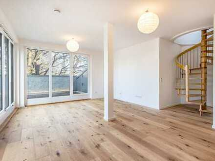 Zwei-Zimmer Maisonette-Wohnung mit Terrassen zum Erstbezug