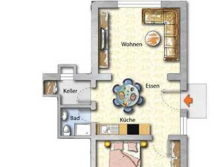 Vollmöblierte 2,5 Zi Wohnung (Ideal für Wochenendpendler)