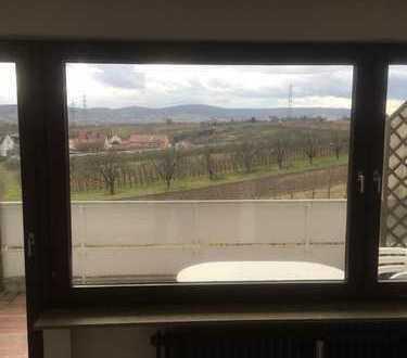 Schöne 1-Zimmer-Wohnung mit Balkon und einzigartigem Ausblick in Weinstadt