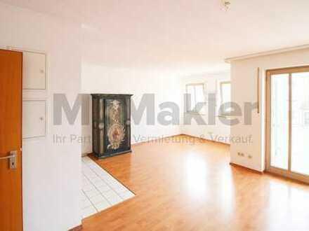 Sehr helle 1-Raum-Wohnung mit Südbalkon, TG-Stellplatz und Aufzug nahe Rosenheim!