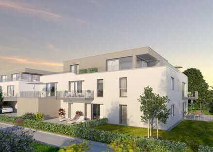 Großzügige 4 Zimmer - Neubauwohnung mit 2 Bädern, Abstellraum und Balkon in Augsburg Hochzoll - Nord