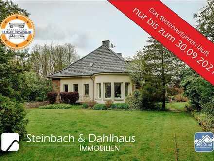 Hagen - Exklusives Anwesen in Höhenlage - ca. 25.000 qm Grundstück - Mindestgebot  € 1.450.000,00