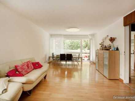 Gut geschnittene Wohnung mit Balkon in bester Lage im Frankfurter Westend