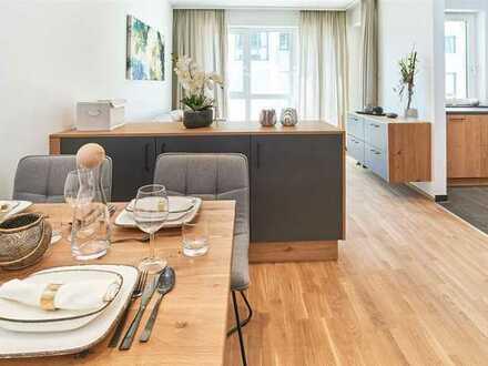 *Betreutes Wohnen* 4-Zimmer-Wohnung mit Dachterrasse im Generationenpark Großmehring