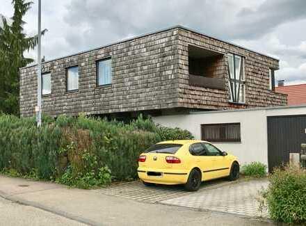 Architektenhaus mit sechs Zimmern und schönem Garten