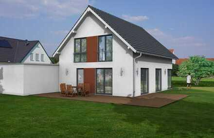 Mündelheim: Freistehendes Einfamilienhaus mit 130m2, individuell planbar -inkl. Wärmepumpe